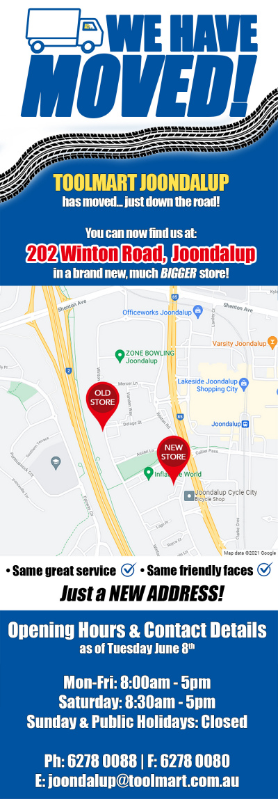 Our Joondalup Store Has Moved