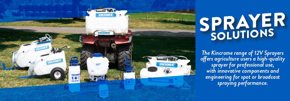 Kincrome Agricultural Sprayer Range