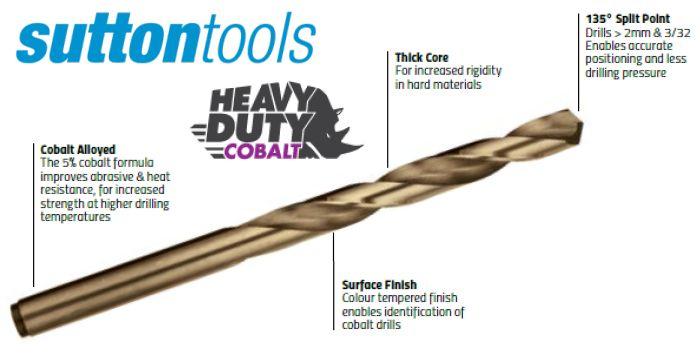 Cobalt Jobber Drills