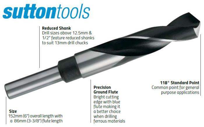 Reduced Shank Drills